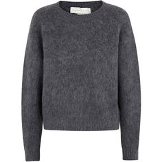 Stella McCartney Mohair And Wool Blend Jumper found on Polyvore