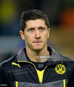 Dienstag , Fussball Champions League Saison 13/14 in Dortmund, BV Borussia Dortmund - Olympique Marseille 3:0, Robert Lewandowski