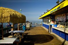 Redondo Beach Coffee Shop on the Redondo Pier