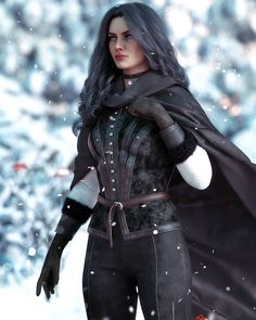 The Witcher Geralt And Yennefer Art Witcher 3 Yennefer, Yennefer Cosplay, Yennefer Of Vengerberg, Witcher Art, The Witcher Wild Hunt, The Witcher Game, The Witcher Review, Witcher Wallpaper, The Witcher Books