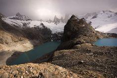 Laguna Sucia y Laguna de Los Tres,  Provincia de Santa Cruz, Argentina