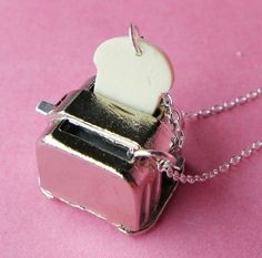 Toaster Necklace