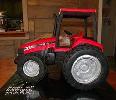 gâteau tracteur 3D | International Tractors