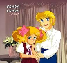 Resultado de imagen para candy candy y anthony