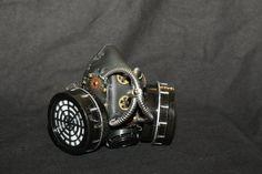 Trux Steampunk Dark Mask by Sector9Industrial on Etsy, $35.00