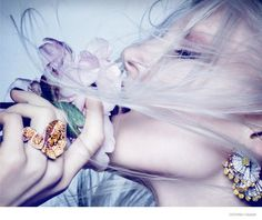 ola rudnicka dior jewelry 2014 04 High Jewelry: Ola Rudnicka by Ben Hassett for Dior Magazine