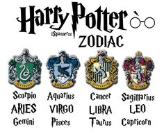 01a634028a9b Harry Potter Houses as Zodiac Signs. I m an Aquarius