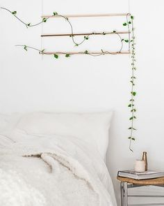 Loving this cute simple greenery decoration.