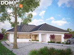 Projekt domu Ambrozja 8 - wizualizacja frontowa