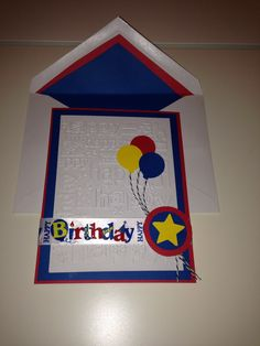 Birthday card inspired by Sceens Designs