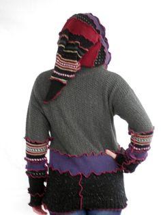 Jam Custom Designs Upcycled Zippered by JamCustomDesigns on Etsy, $63.00