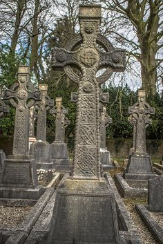 This is the official graveyard at St. Patrick's College Maynooth, Co. Kildare.