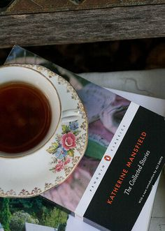 booksandtea:    Books and Tea by sophieisobeldesigns on Flickr.