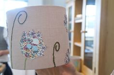 Handmade Embroidered Lampshade Workshops (first published May 2014 ) A few weeks ago now I had a super fab … Continue reading Embroidered Lampshade Workshop → Dream Studio, Lampshades, Art History, Snow Globes, Hand Embroidery, Geek Stuff, Quilts, Stitch, Sony