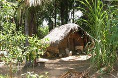 #Suriname #A Maroon cabin