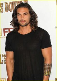 Jason Momoa from Game of Thrones.....I'll be his khaleesi