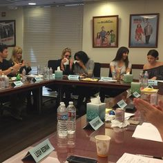PLL - the last table read - lisacochranpll: When the last words were spoken, the applause began. And the tears flowed. #pll #seriesfinale My Girls! You've grown into amazing women. @lucyhale @sleepinthegardn @itsashbenzo @shaym