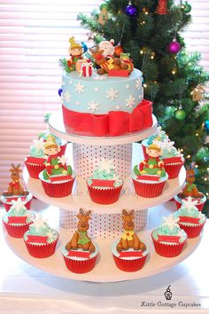 Christmas Fun by Little Cottage Cupcakes, via Flickr