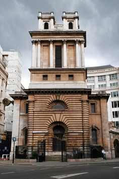 St. Mary Woolnoth, one of six London churches designed between 1712 and 1733 by the English Baroque architect Nicholas Hawksmoor (1662-1736), is his most compact masterwork. Famed for its proto-brutalist facade and spatial ambiguities, and for exciting morbid thoughts from poets and novelists throughout the 20th century, the building distills qualities that have elevated Hawksmoor, known mainly by the Victorians as an assistant to Christopher Wren, to his modern-day status as a cultish…