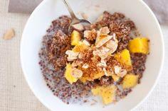 some yummy looking quinoa breakfast recipes