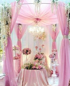 Indian mandap idea except I will change the color to purple/blue for my wedding, indian wedding decor, Creations by Gitta Indian Wedding Decorations, Reception Decorations, Wedding Themes, Wedding Designs, Decor Wedding, Wedding Stage, Wedding Ceremony, Dream Wedding, Wedding Day