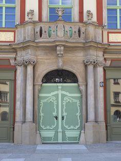 Baroque Door, Wrocław by chuha