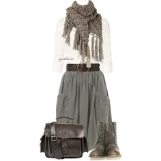 A fashion look from February 2013 featuring Fat Face t-shirts, Miss Selfridge skirts and Chinese Laundry boots. Browse and shop related looks.