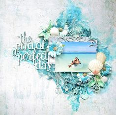 Blue Fern Studios: Three Beach themed Layouts with the Seaside Cottage…
