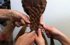 Add to SCA: This 7 strand braided hairstyle is super cool. The braid has a unique sophisticated look that is easier to make than it seems Pretty Hairstyles, Braided Hairstyles, Latest Hairstyles, Natural Hair Styles, Long Hair Styles, Cool Braids, Hair Creations, Great Hair, Looks Cool