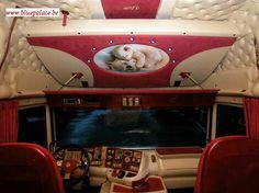 Scania Longline's interior