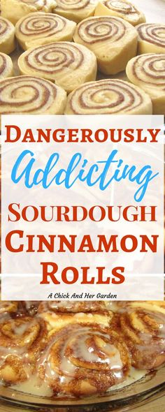 Dangerously Addicting Sourdough Cinnamon Rolls If you're looking for a new way to use up sourdough starter, this cinnamon roll recipe is amazing! She isn't kidding when she says they are dangerously addicting sourdough cinnamon rolls! Sourdough Cinnamon Rolls, Sourdough Bread, Sourdough Brioche Recipe, Keto Bread, Sourdough Dinner Rolls, Bread Baking, Bread Starter, Sour Dough Starter, Dramione