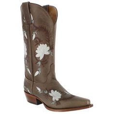 Shyanne® Women's Floral Embroidered Western Boots ---$179.99