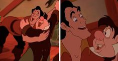 Gaston And LeFou Were Probably Fucking Queer Art, Gaston, Gay Art, Disney Villains, Some Pictures, Beauty And The Beast, Scooby Doo, Love Story, Character Design