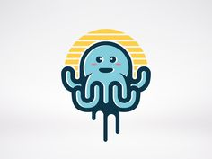 Octopus Logo by Alberto Bernabe