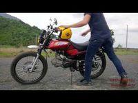 honda vecstar win 97cc first ride - YouTube