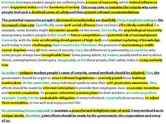 About water pollution essay
