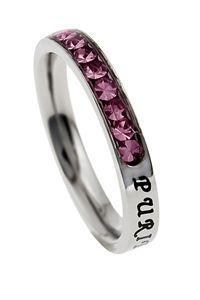 Princess Birthstone Ring Purity October $25.95 http://www.celebrateyourfaith.com/Princess-Birthstone-Ring-Purit-P13644C856.cfm