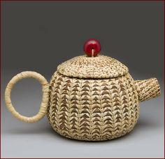 Artist Leah Danberg  Untitled Teapot #2