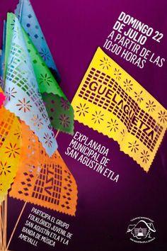 Guelaguetza in San Agustin Etla on July 22