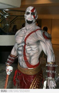 Awesome Kratos Cosplay