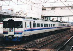 JR West 485 superraicho 3 富山駅