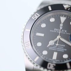As the archetype of diving watches and a flagship of the Rolex brand, the Submariner (ref. 116610LN), which has been updated in 2020, is perhaps the most famous wristwatch of all. With the 40 mm Super Case in 904L stainless steel, a date window at 3 o'clock, the manufacture calibre 3135, a black dial and a black ceramic bezel, the Submariner is the perfect partner for literally any situation you may be facing. Buy Rolex, Rolex Models, Luxury Watch Brands, 3 O Clock, Rolex Submariner, Rolex Watches, Diving, Window, Stainless Steel