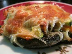 Portobello Mushroom Recipes Sauteed | Grilled Portobello Mushrooms Stuffed with Sauteed Veggies | Recipes