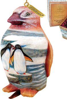 Penguin Clip-On Ornament