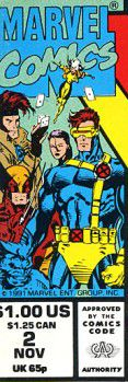 X-Men corner box art