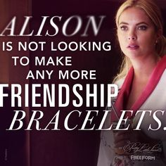 Pretty Little Liars ( Watch Pretty Little Liars, Pretty Litte Liars, I'm Still Here, Abc Family, Tv Show Quotes, Love You All, Big Bang Theory, Best Shows Ever, True Stories