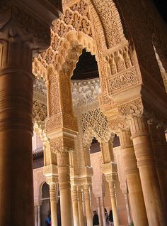 Alahambra Palace, Granada, Spain   Can't believe I get to see this ahhhh