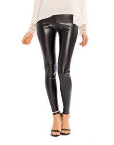 Simple Leather Leggings - 2020AVE #leather #leggings