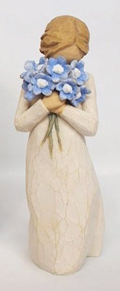 Forget Me Not Figurine | Farewell Gift Ideas