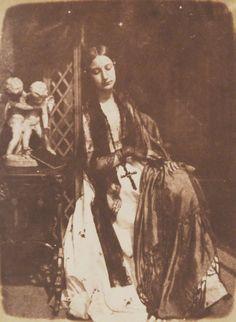 1843-1848 - Elizabeth (née Rigby), Lady Eastlake by David Octavius Hill, and Robert Adamson